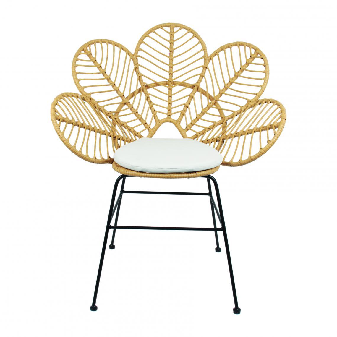 La chaise longue Fauteuil Fleur