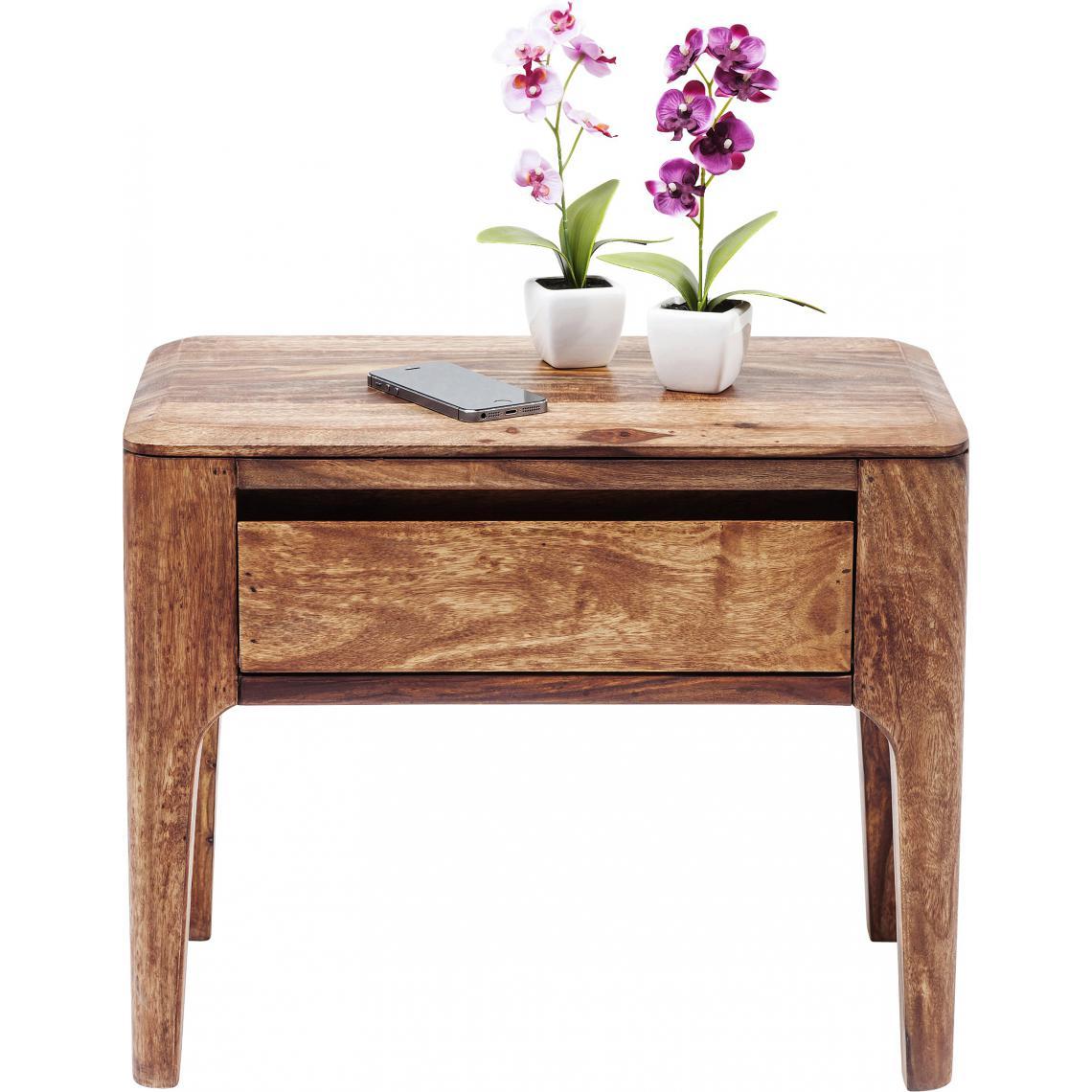 KARE DESIGN Table D'Appoint KARE DESIGN En Bois Effet Vieilli H50 NINON