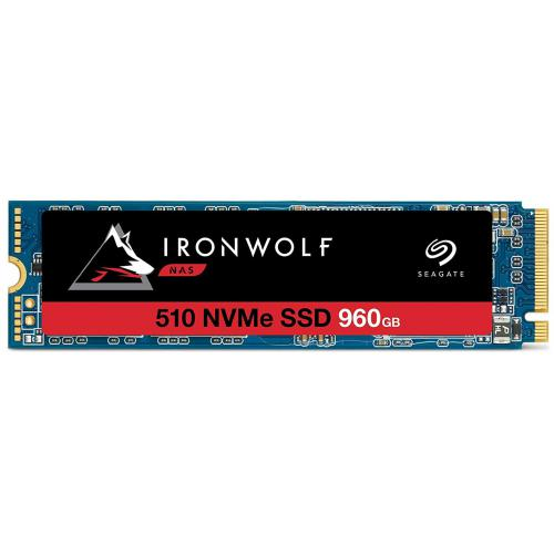Seagate - IronWolf 510 SSD - 960 Go - M.2 2280-D2 - NVMe PCIe Gen3 x4 - Disque SSD Seagate