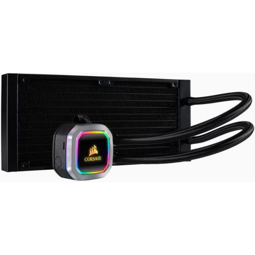 Corsair - Hydro Series H100i RGB PLATINUM - 240mm Corsair   - Bonnes affaires Watercooling