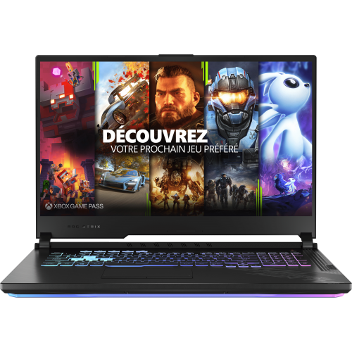 Asus - ROG STRIX G17 G712LW-EV010T - Noir - Ordinateur portable reconditionné