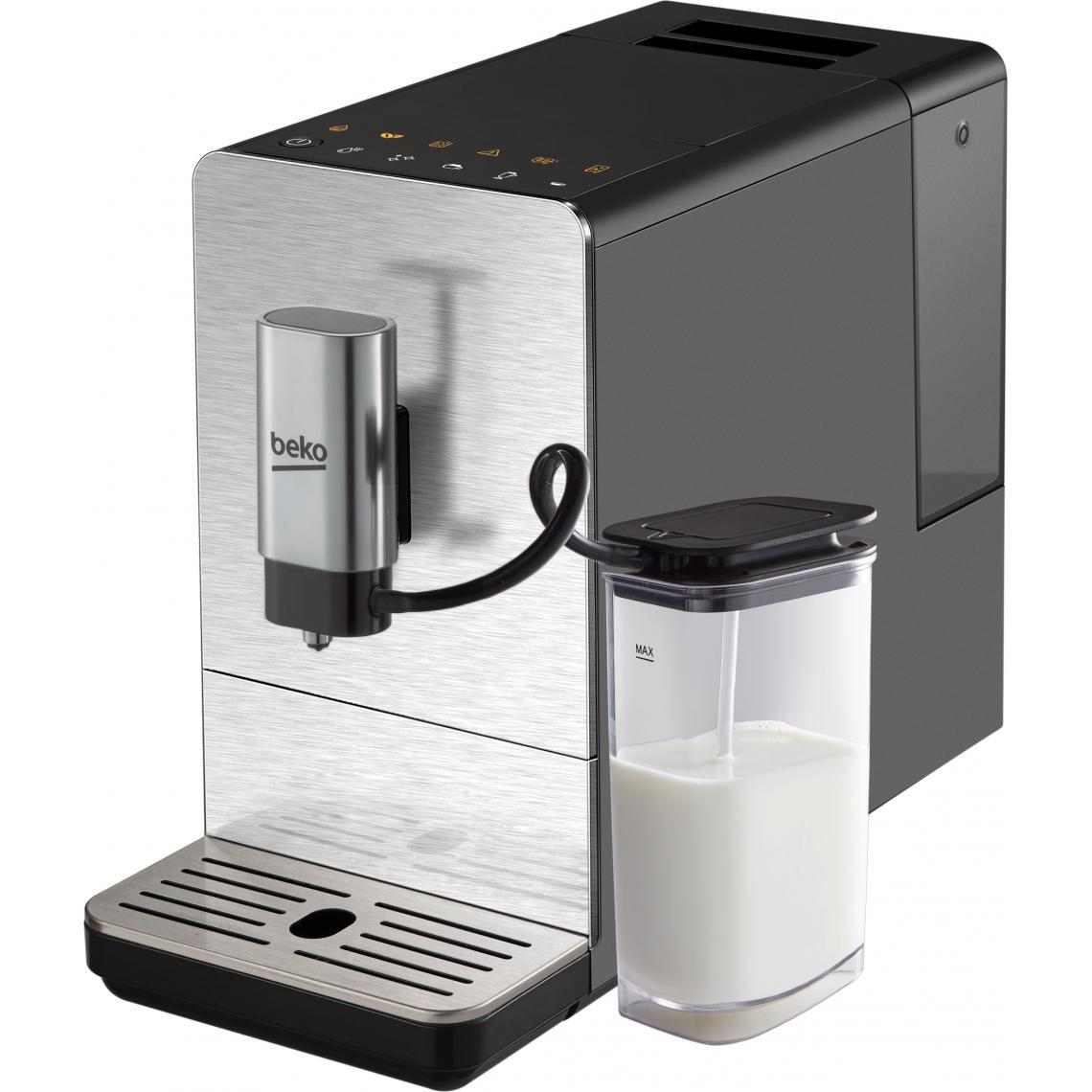 Beko Machine à café Expresso broyeur CEG5331X - Argent