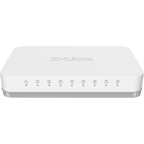 D-Link - D-LINK - GO-SW-8G - Switch
