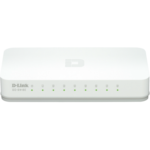 D-Link - GO-SW-8E - Switch