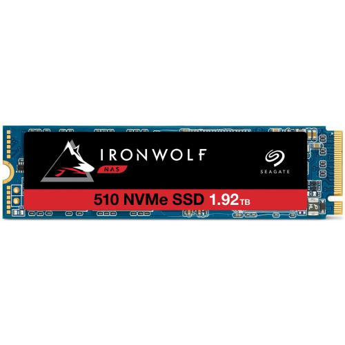 Seagate - IronWolf 510 SSD - 1,92 To - M.2 2280-D2 - NVMe PCIe Gen3 x4 - Disque SSD Seagate