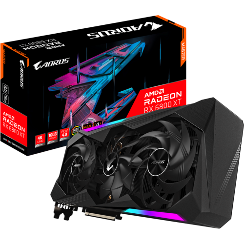 Gigabyte - Radeon RX 6800 AORUS XT MASTER - Triple Fan - 16G - Carte Graphique AMD