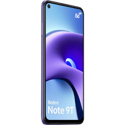 Smartphone Android Redmi Note 9T - 5G - 4/128Go - Violet aurore