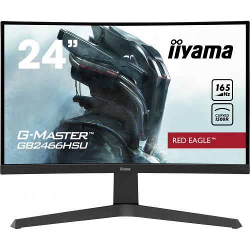 "Iiyama - iiyama 23.6"" LED - G-MASTER GB2466HSU-B1 Red Eagle - Moniteur PC Gamer"