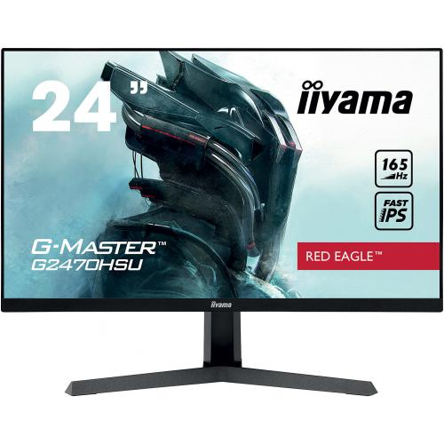 "Iiyama - iiyama 23.8"" LED - G-Master G2470HSU-B1 Red Eagle - Moniteur PC Gamer"