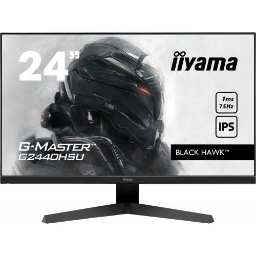 Iiyama - iiyama 23.8 LED - G-Master G2440HSU-B1 Black Hawk - Moniteur PC Gamer