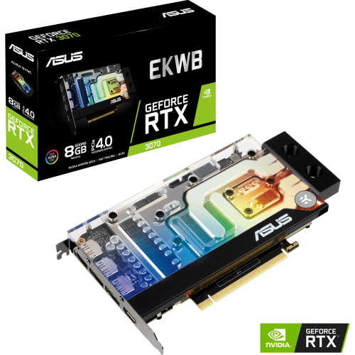 Asus - GeForce RTX 3070 - EKWB - 8Go Asus   - NVIDIA GeForce RTX 3070