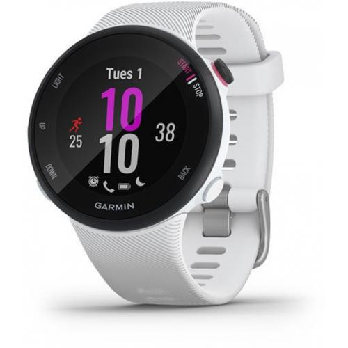 Montre connectée Garmin Forerunner 45S - 39 mm - Blanc
