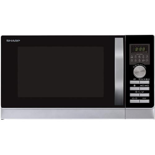 Sharp - Micro-ondes Grill - 25L - 900W - R843INW Argent - Cuisson