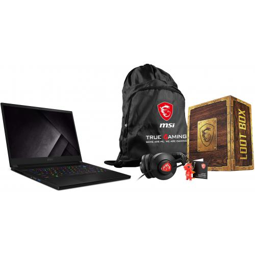 Msi - GS66 Stealth 10UE-209FR - Noir + Loot Box Pack - Level 2 - PC Portable RTX Série 3000