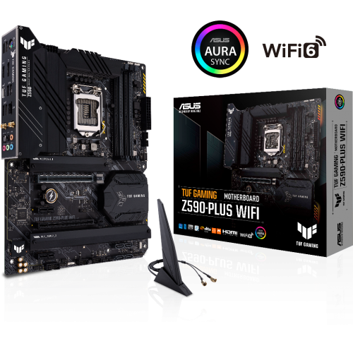 Asus - TUF GAMING Z590-PLUS WIFI - Carte mère Intel