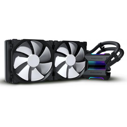 Phanteks - Glacier One 280 MP Black - Bonnes affaires Watercooling