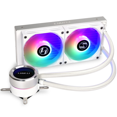 Lian-Li - GALAHAD 240mm - ARGB - Blanc - Bonnes affaires Watercooling
