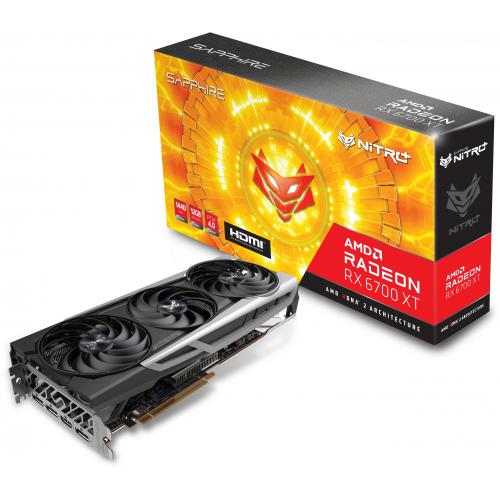 Sapphire Technology - Radeon RX 6700 XT NITRO GAMING - 12 Go - Carte Graphique AMD