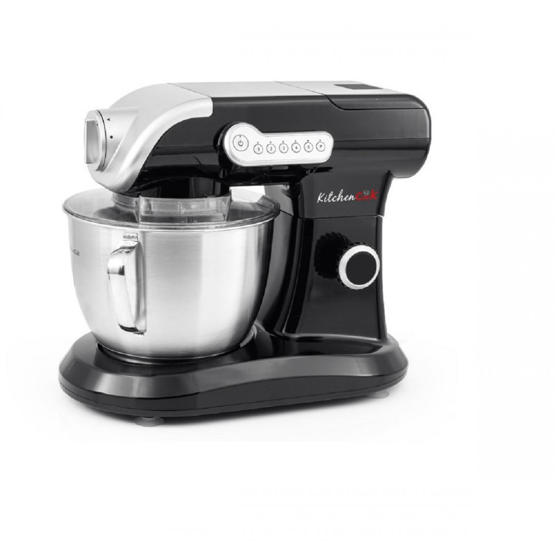 Kitchencook Robot pétrin multifonction Evolution - 1000W - Noir