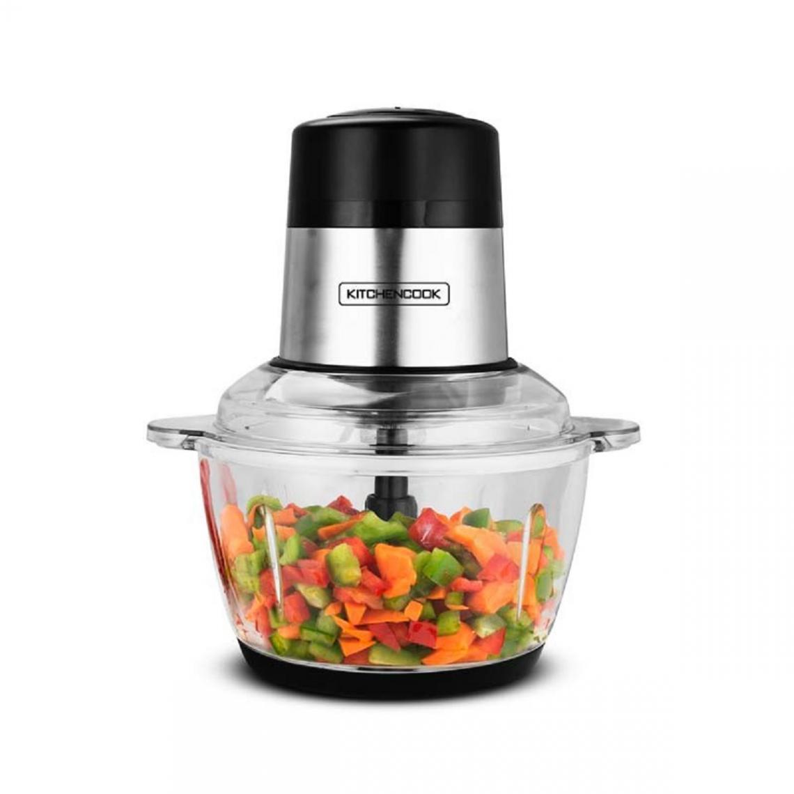 Kitchencook Mini Hachoir électrique Mixpod2000 - 2L - Noir