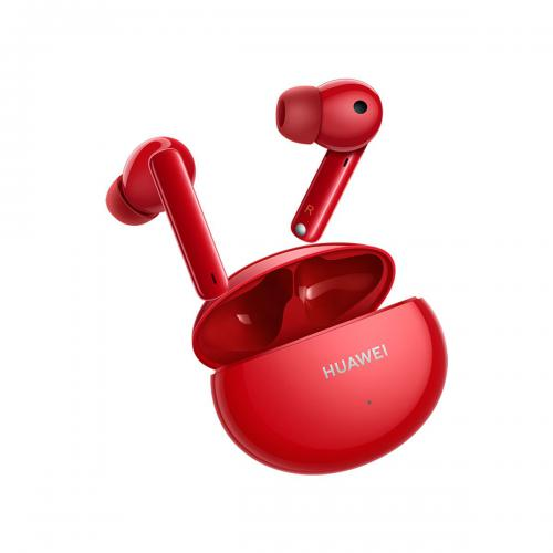 Huawei - FreeBuds 4i - Rouge - Ecouteurs intra-auriculaires