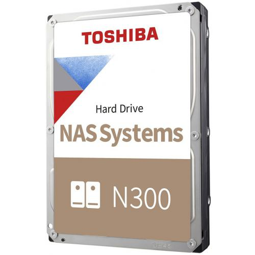 Toshiba - N300 High-Reliability Hard Drive 8 To - 7200 tpm - 256 Mo - NAS - CMR - Disque Dur interne