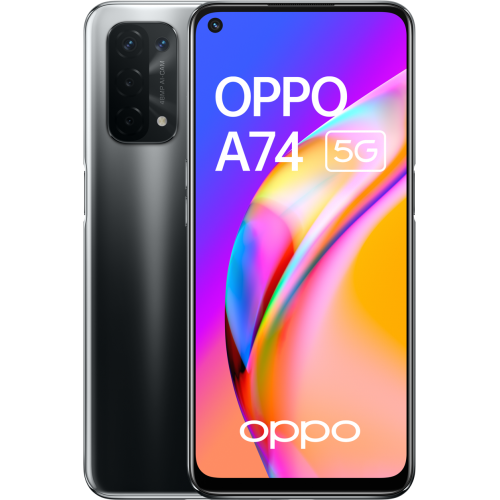 Oppo - A74 - 6/128 Go - 5G - Noir - Smartphone Android