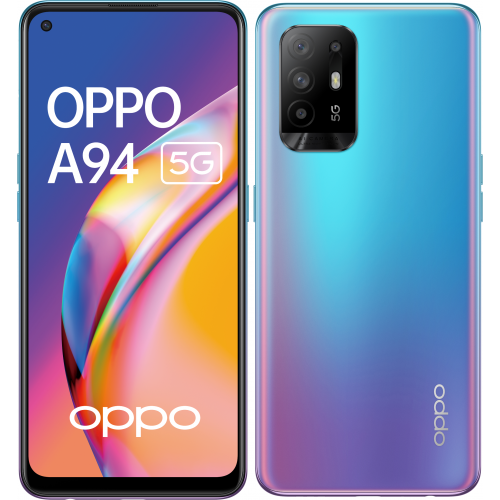 Oppo - A94 - 128 Go - 5G - Bleu - Smartphone Android