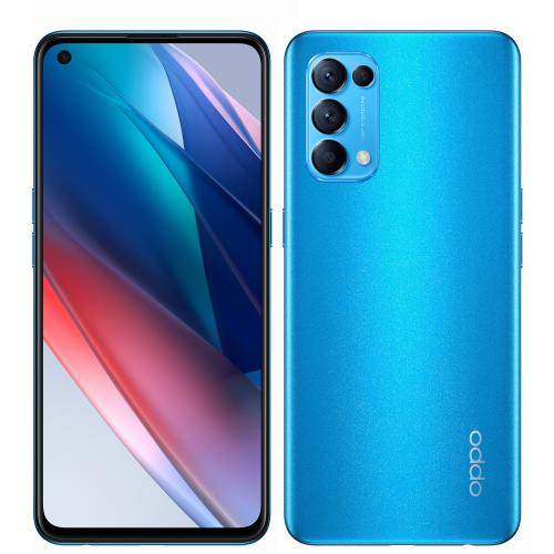 Oppo - Find X3 Lite 5G - 128 Go - Bleu - Smartphone Android