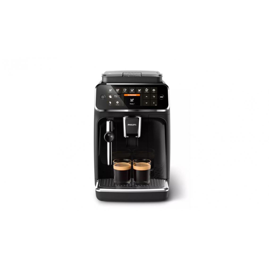 Philips Machine à café Expresso broyeur Série 4300 - EP4321/50 - Noir
