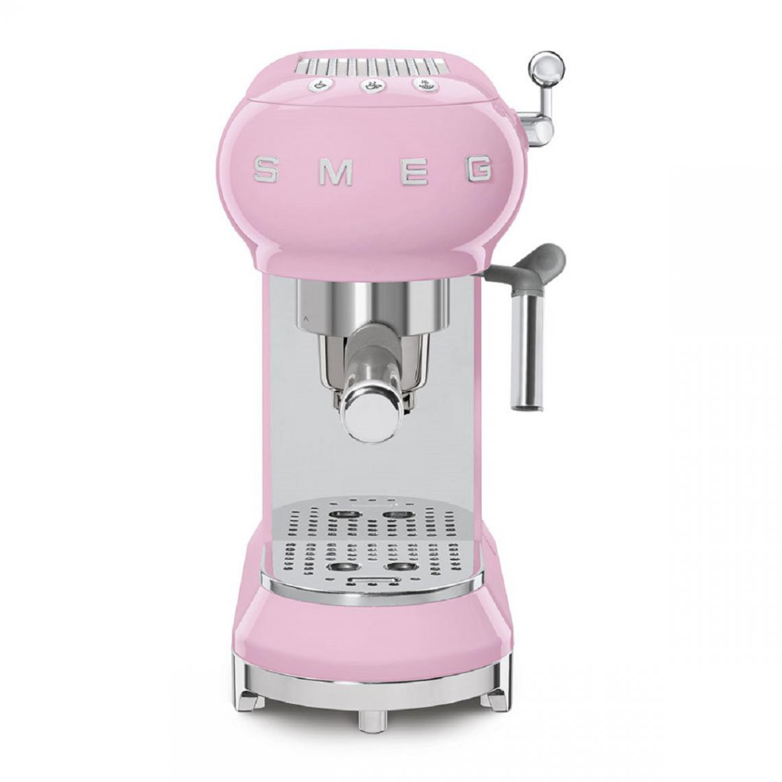 Smeg Machine à expresso Années 50 - ECF01PKEU - Rose