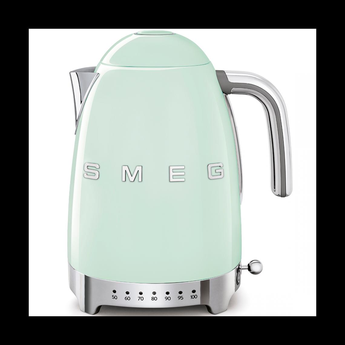 Smeg Bouilloire électrique Années 50 - KLF049GEU - Vert d'eau