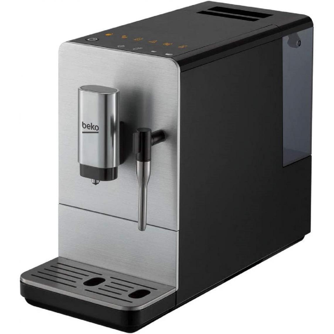 Beko Machine à café Expresso broyeur CEG5311X - Gris