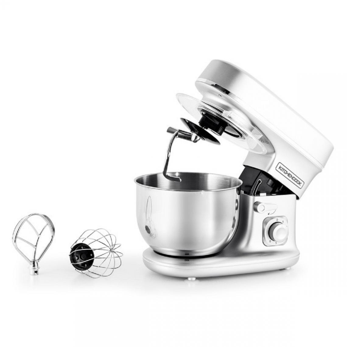 Kitchencook Robot pétrin 5L mouvement planétaire Revolve - Argent