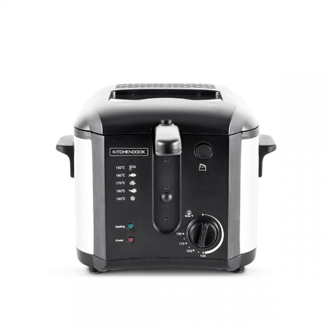 Kitchencook Friteuse avec thermostat réglable et filtre anti graisse FR2020