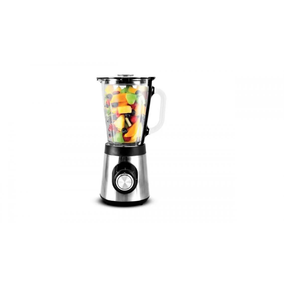 Kitchencook Blender en verre gradué 500W B9turbo - Inox
