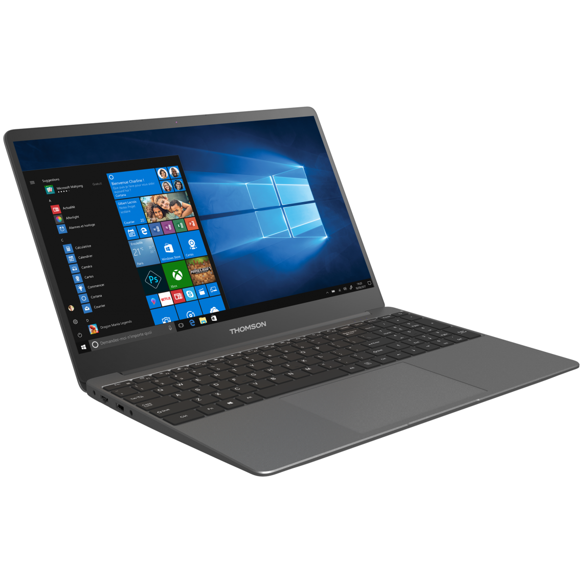 Thomson Notebook Metal X15I5 8TU512 Argent