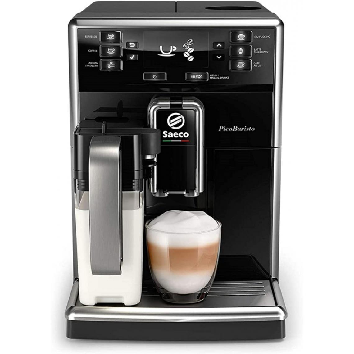 Saeco Machine à café Expresso broyeur PicoBaristo SM5470/10 - Noir