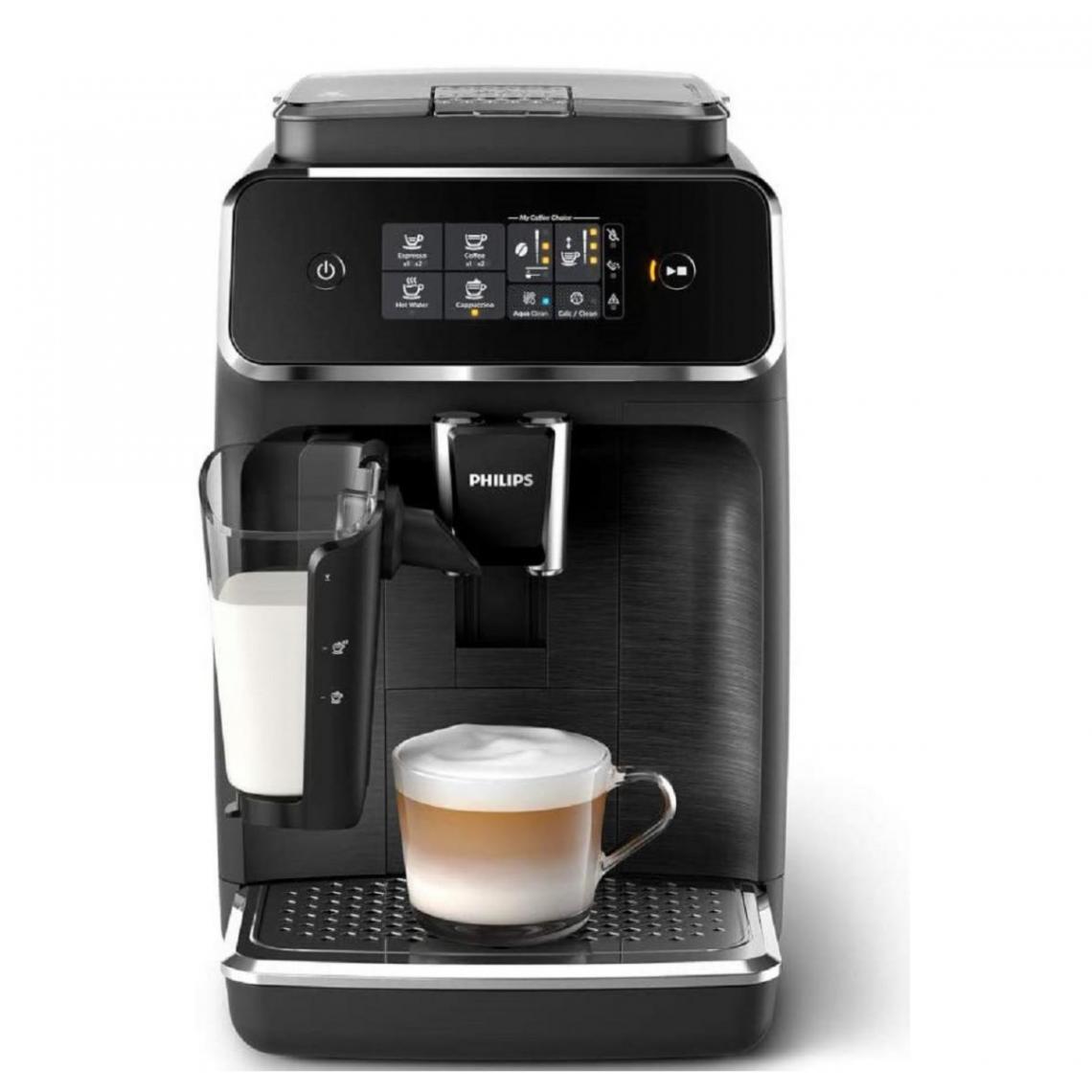 Philips Machine à café Expresso broyeur Série 2200 - EP2232/40 - Noir