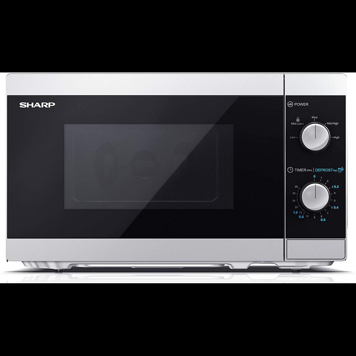 Sharp Four micro-ondes 20L 800W YC-MS01E-S - Argent