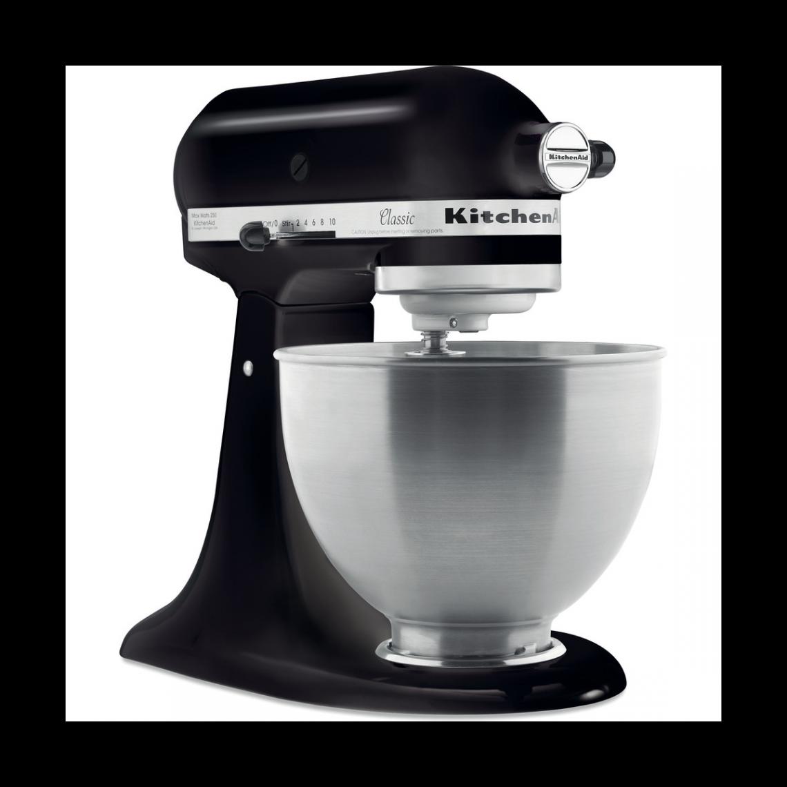Kitchenaid Robot pâtissier 4,3L - Classic 5K45SS - Noir réglisse