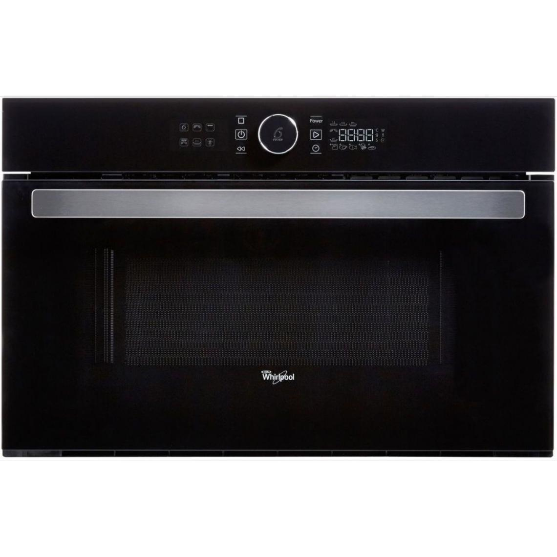 Whirlpool Micro-ondes Grill encastrable 1000W - AMW 730/NB - Noir