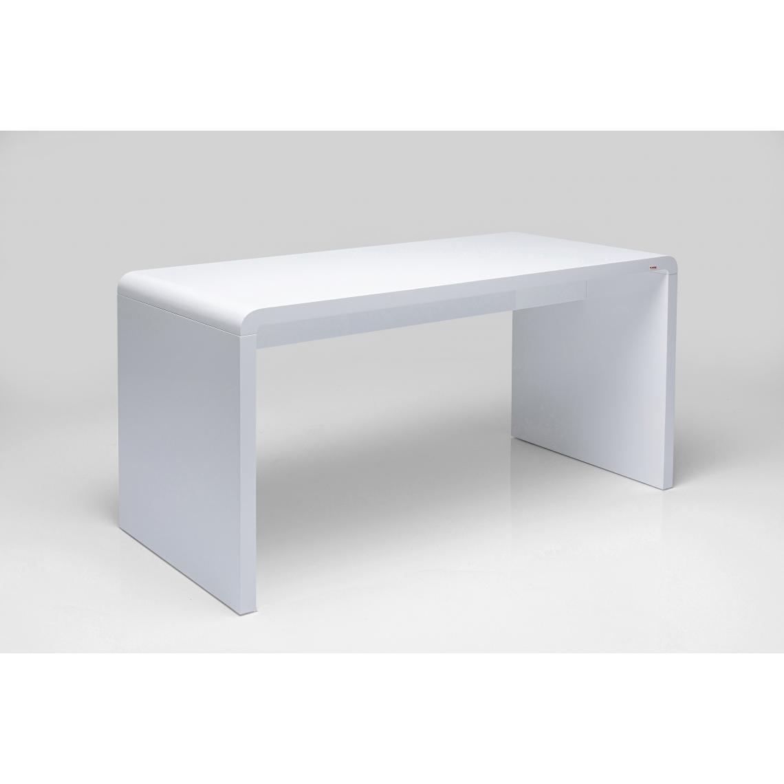 KARE DESIGN Bureau blanc Mathieu 180x85