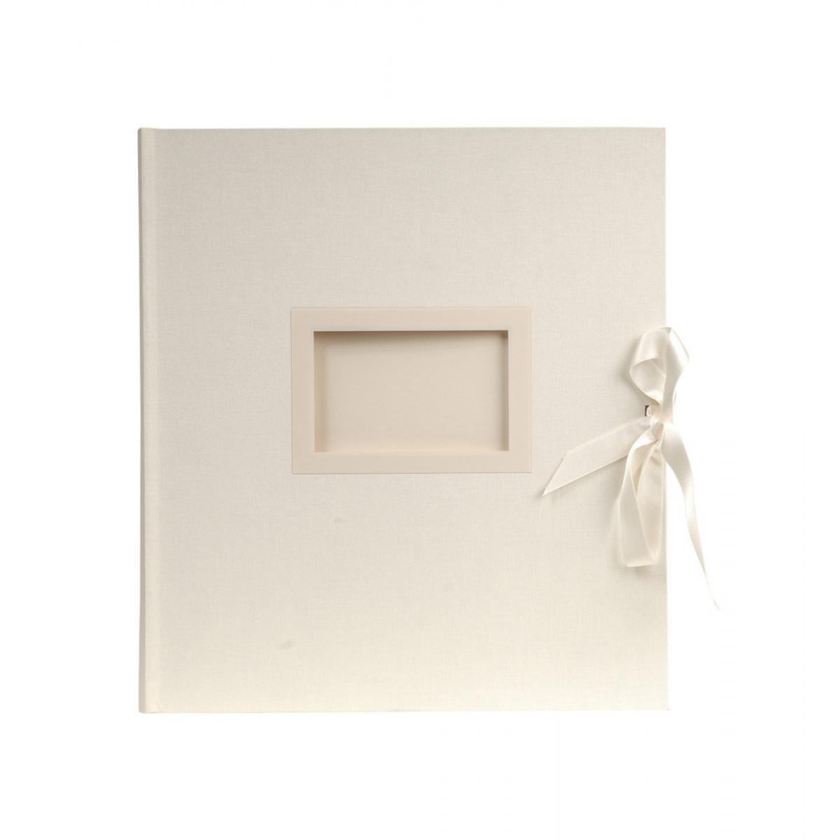 Ac-Deco Album photos livre Kingsbridge 60 pages - 29 x 32 cm - Blanc