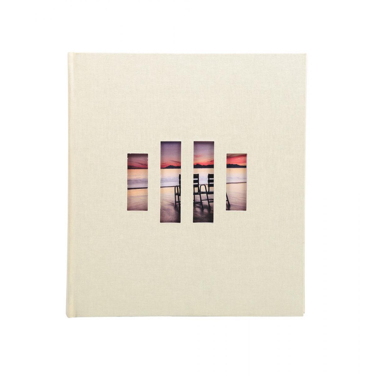 Ac-Deco Album photos livre Zen 60 pages - 29 x 32 cm - Blanc