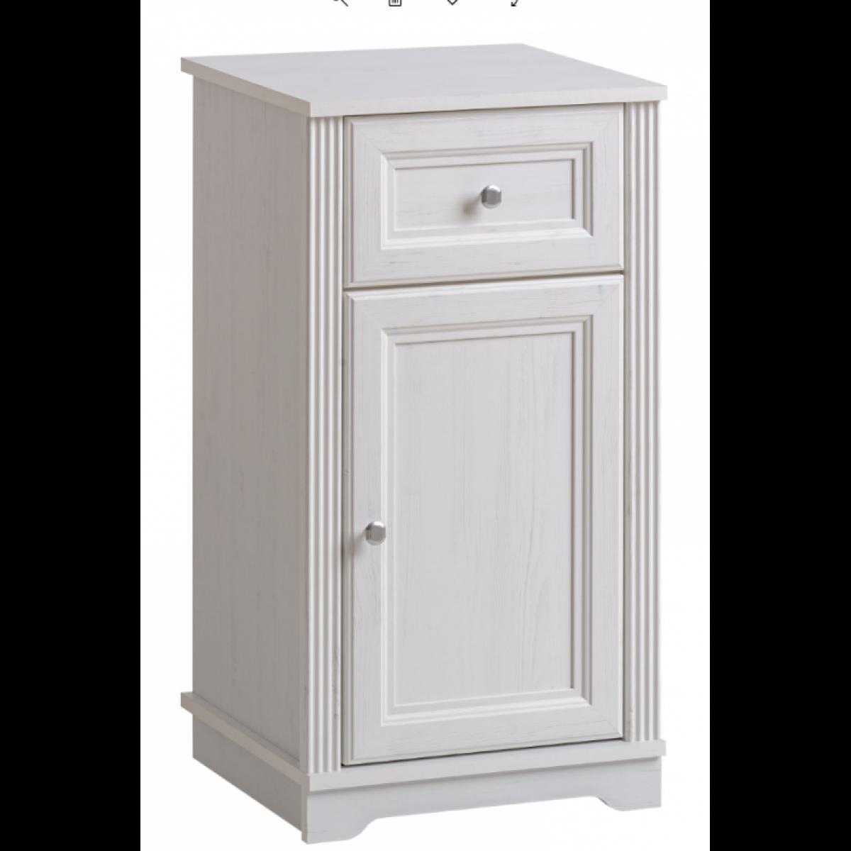Ac-Deco Armoire de salle de bain Palace White - 43 x 40 x 81 cm - Rangement