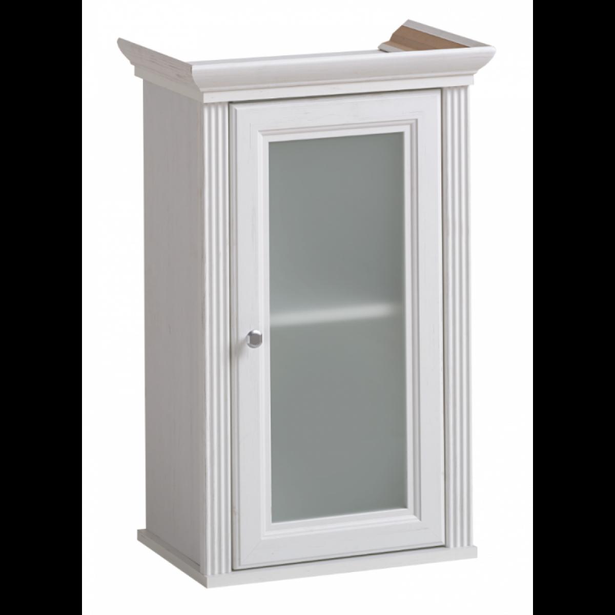 Ac-Deco Armoire de salle de bain Palace White - 48 x 32 x 76 cm - Rangement