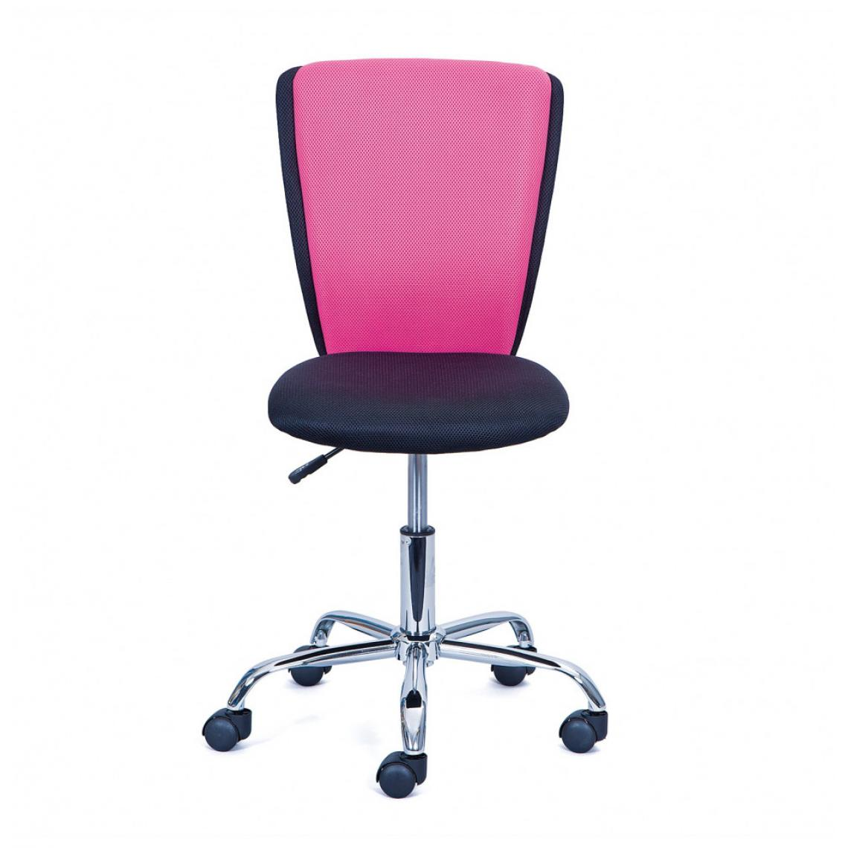 Ac-Deco Chaise de bureau - Enfant - Rose