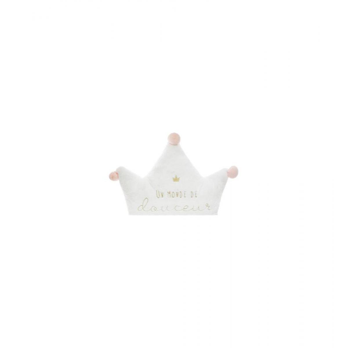 Ac-Deco Maxi coussin princesse - L 68 x l 53 cm - Multicolore