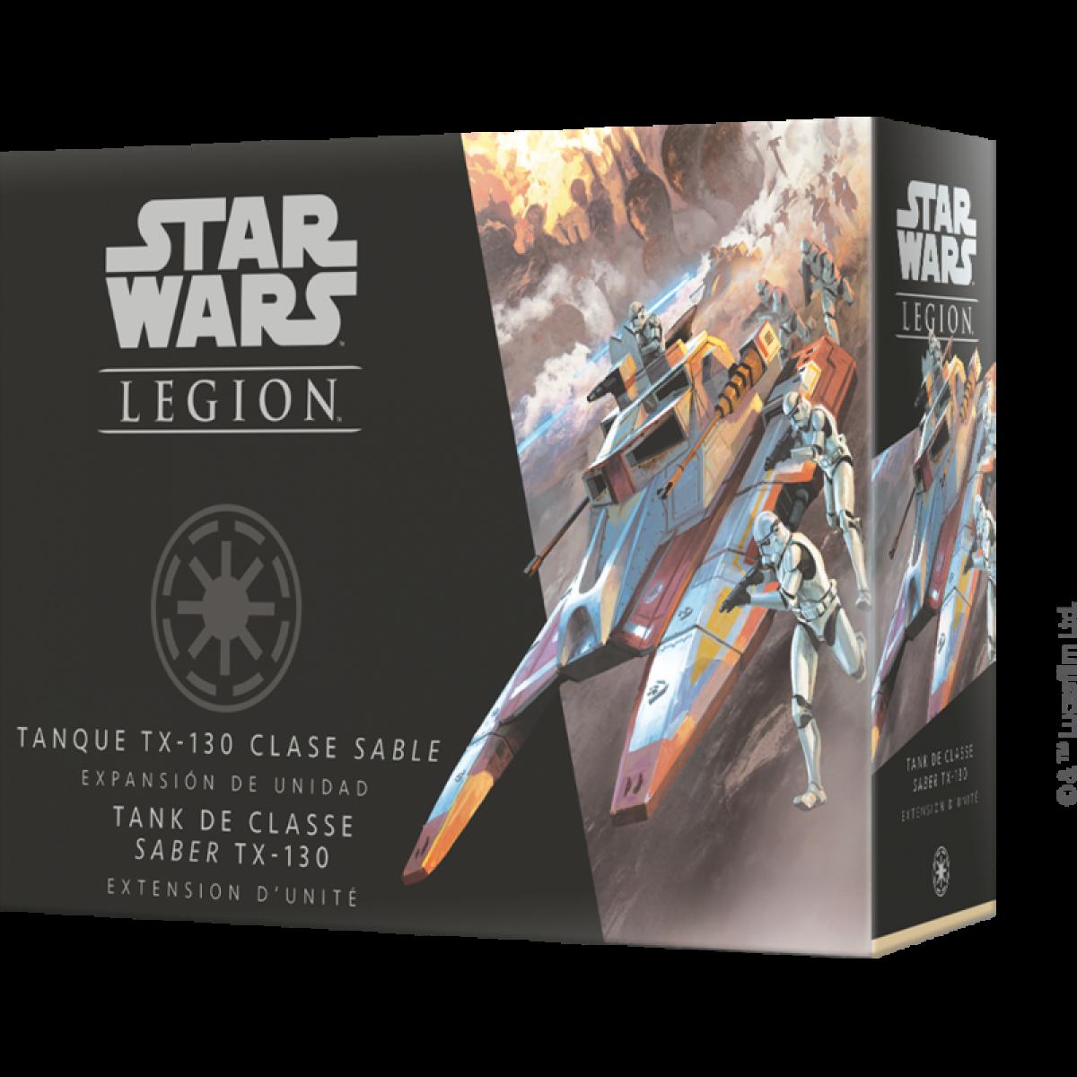 Ac-Deco Star Wars Légion : Tank de classe Saber TX-130 - Jeux de Cartes Evolutifs